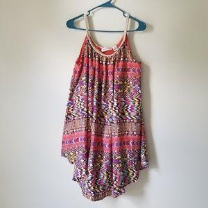 Camille & Co Long Top Mini Dress